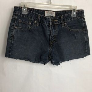 Levi Strauss signature low rise cut offs